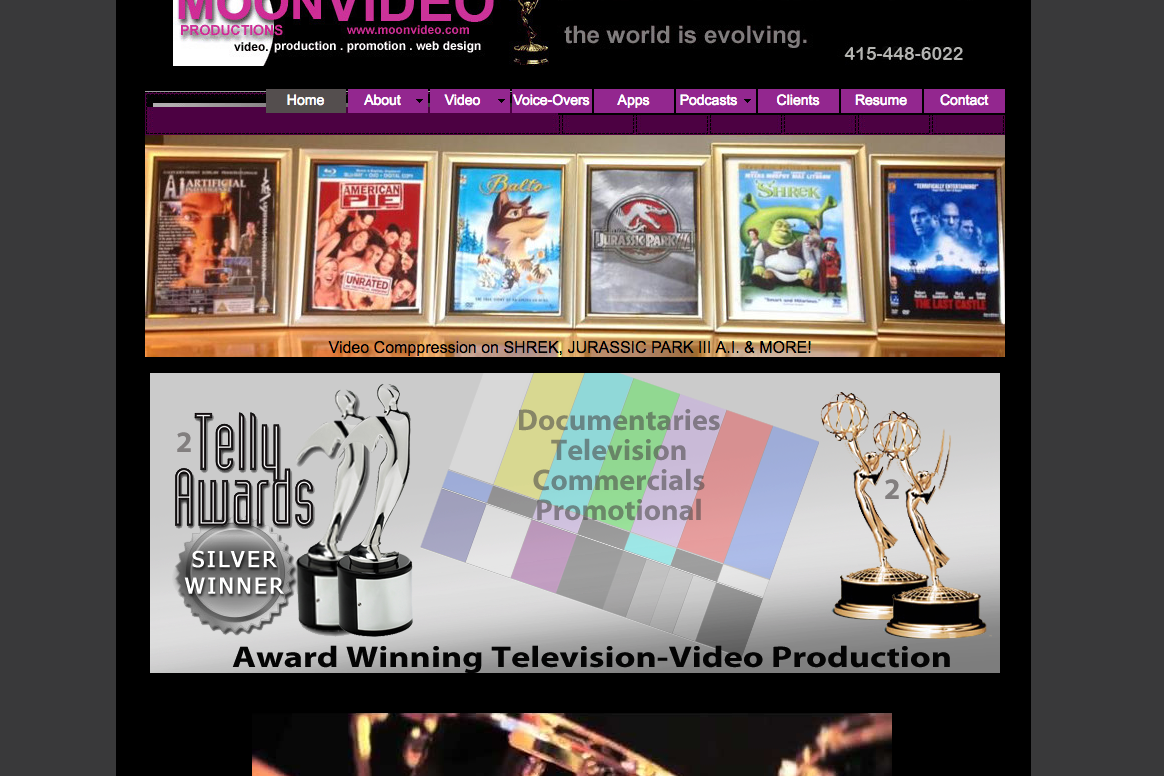 Moonvideo.com, Award Winning Video Production